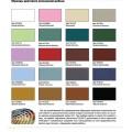 Образцы цветового исполнения нашей мебели
