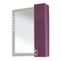 Valente Acquisto 600 Зеркало с подсветкой и шкафчиком (600*166*700) Ac 600.11 01-02
