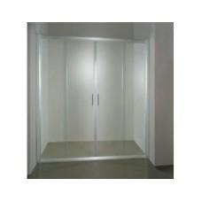 Душевая дверь NRDP4 - NRDP4-120 белая   Транспарент