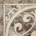 Плитка напольная COLORKER MARMOLES 5858 FRAPUCCINO ANGULO ROSETON PULIDO