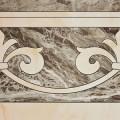 Плитка напольная COLORKER MARMOLES 5858 FRAPUCCINO CENEFA ROSETON PULIDO