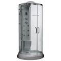 Душевая кабинка Oporto Premium 8601(gray)
